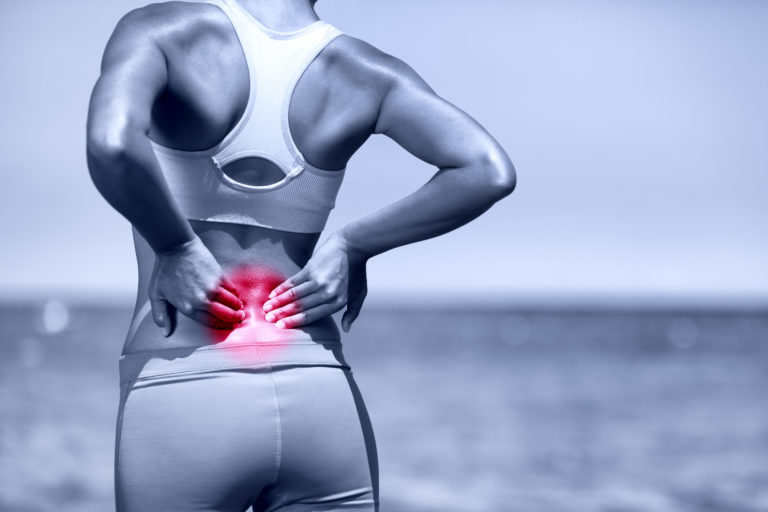 massage relieves backpain